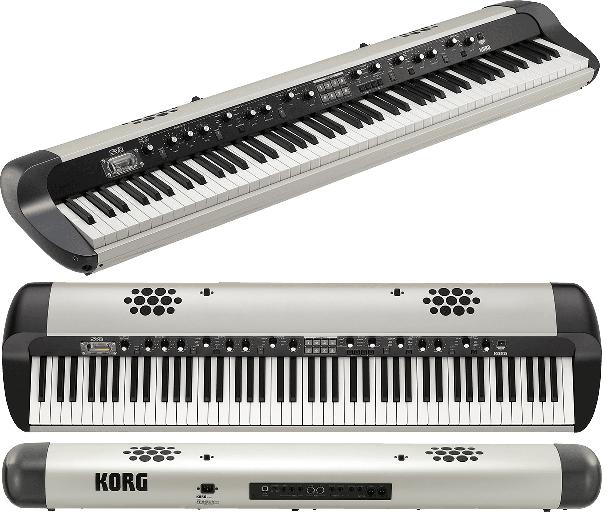 Piano numérique Korg SV2S-88 Vintage - Voir en grand