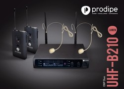 Micro Prodipe UHF B210 DSP Headset Duo - Voir en grand