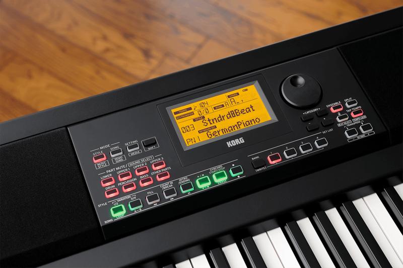 Piano numérique Korg XE20-4 - Voir en grand