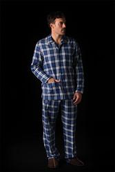 Pyjama boutonné pour homme SOY - Voir en grand