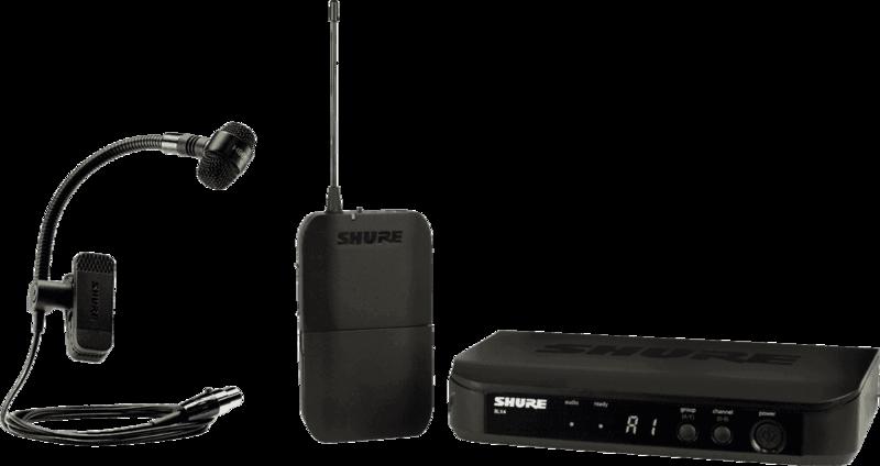 SYSTEME HF Shure BLX14E-PGA98H-M17 - Voir en grand