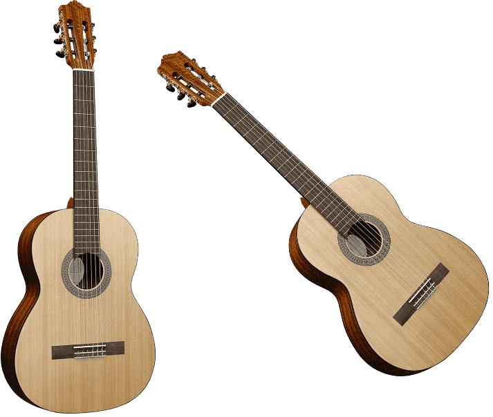 Guitare classique GSM 7-LH GAUCHER - Voir en grand