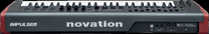 Clavier maître Novation IMPULSE-49-2 - Voir en grand