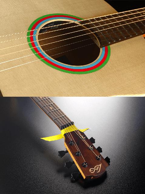 Guitare Lâg Travel Signature VIANNEY VIAN-001-8. - Voir en grand