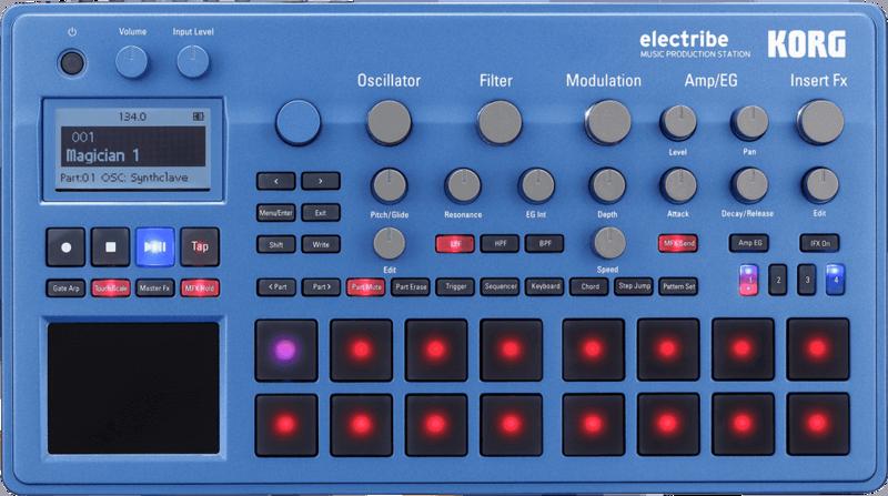 Electribe Korg Synthé & séquenceur ELECTRIBE2-BL-2 - Voir en grand