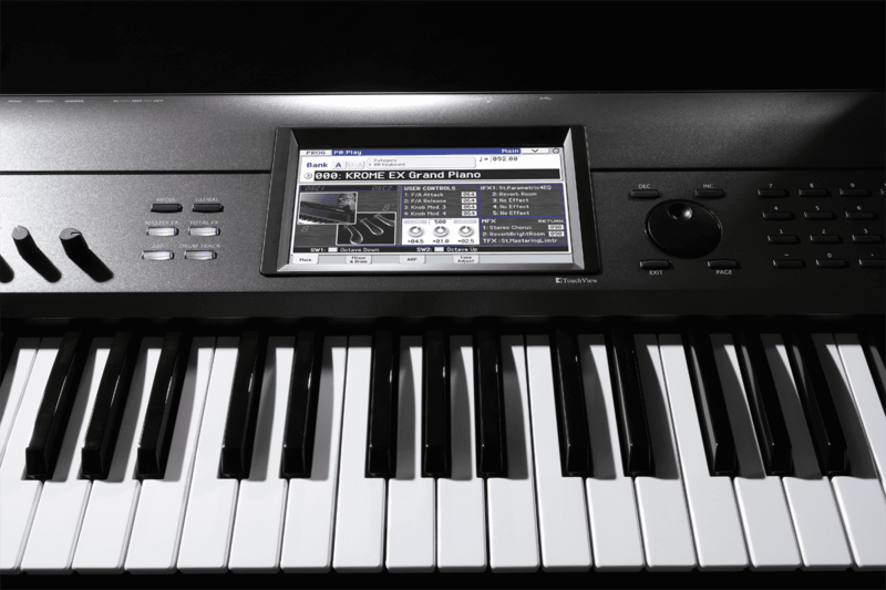 Workstations Korg KROME-EX-3 - Voir en grand