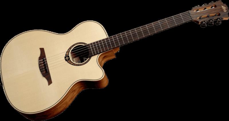 Guitare Lâg Tramontane Nylon 270 - Voir en grand