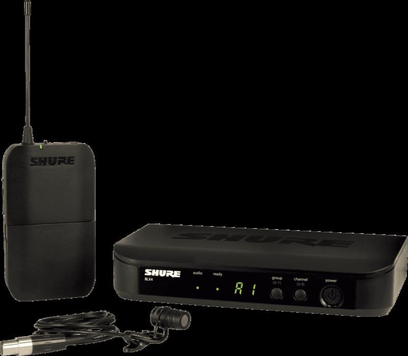 SYSTEME HF Shure  BLX14E-W85-M17 - Voir en grand