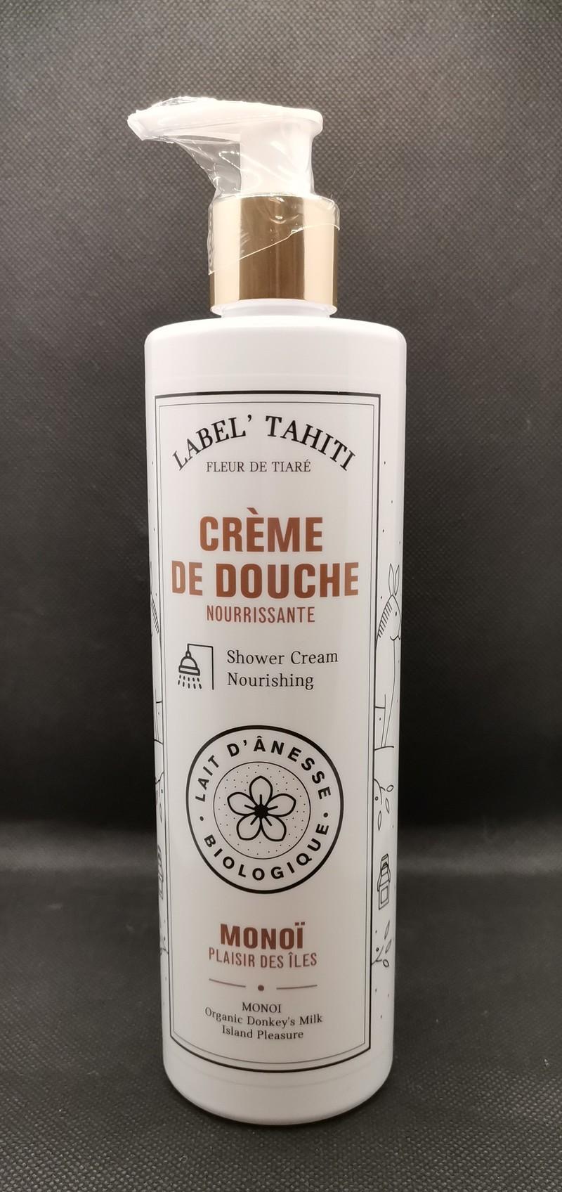 """CREME DE DOUCHE MONOI 400ML - crème de douche - Savonnerie """" d'ici et d'ailleurs"""" - Voir en grand"""
