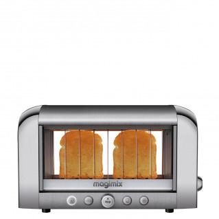 Toaster Vision Inox Mat/Brillant Magimix - Voir en grand