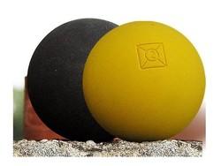 Pelotes de gomme pleines Bista Jaune ou Noir Nobia Claverie Sports - Voir en grand