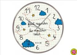 Horloge Les mouches.jpg - Voir en grand
