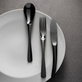 """""""XY BLACK MIROIR"""" MENAGERE 24 P - DEGRENNE - COUVERTS - GALLAZZINI - Arts de la table et de la Cuisine - Voir en grand"""