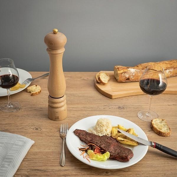 PARIS U'SELECT - BOIS NATUREL - PEUGEOT - Moulin à poivres & sels - GALLAZZINI - Arts de la table et de la Cuisine - Voir en grand
