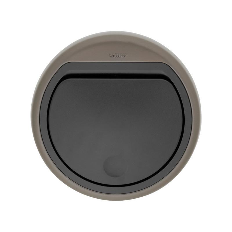 Couvercle Poubelle TOUCH BIN 30L - Platinum - Voir en grand