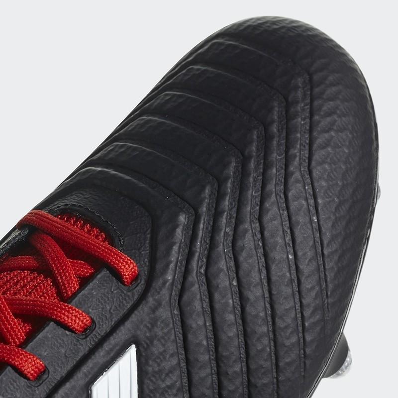 Chaussure Adidas Predator 18.3 Terrain Gras noir Claverie