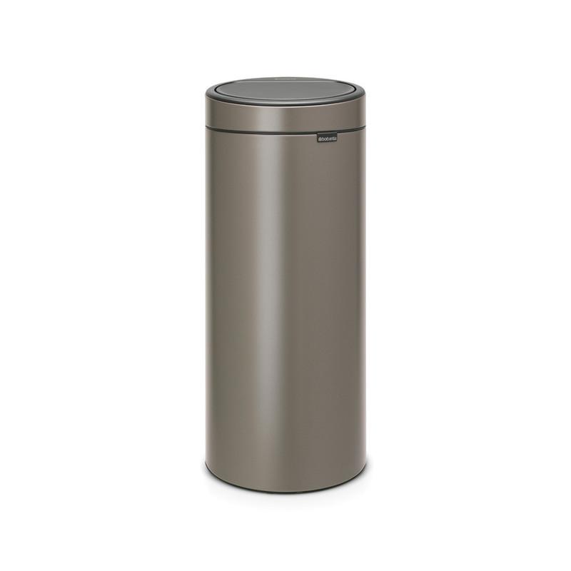 Poubelle TOUCH BIN 30L - Platinum - Voir en grand