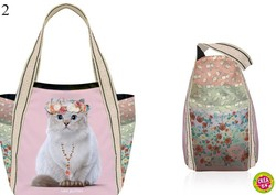 Sac à Main Moyen modèle Jasmine - Teo et Jasmin - Tous mes sacs à main et cabas - CREA.64 Oloron Objet du quotidien, cadeau et décoration - Voir en grand