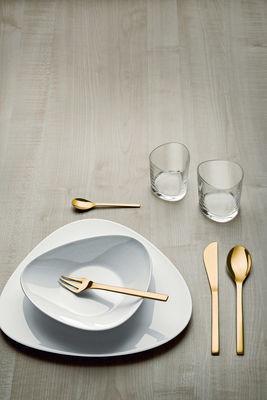MENAGERE 24P - COLOMBINA GOLD - ALESSI - COUVERTS - GALLAZZINI - Arts de la table et de la Cuisine - Voir en grand