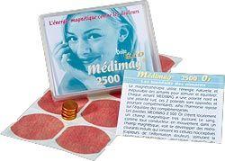 MEDIMAG TITANIUM 11 mm - Soulager - Espace Bien Etre - Aimants - Pierres - Produits Naturels - Voir en grand