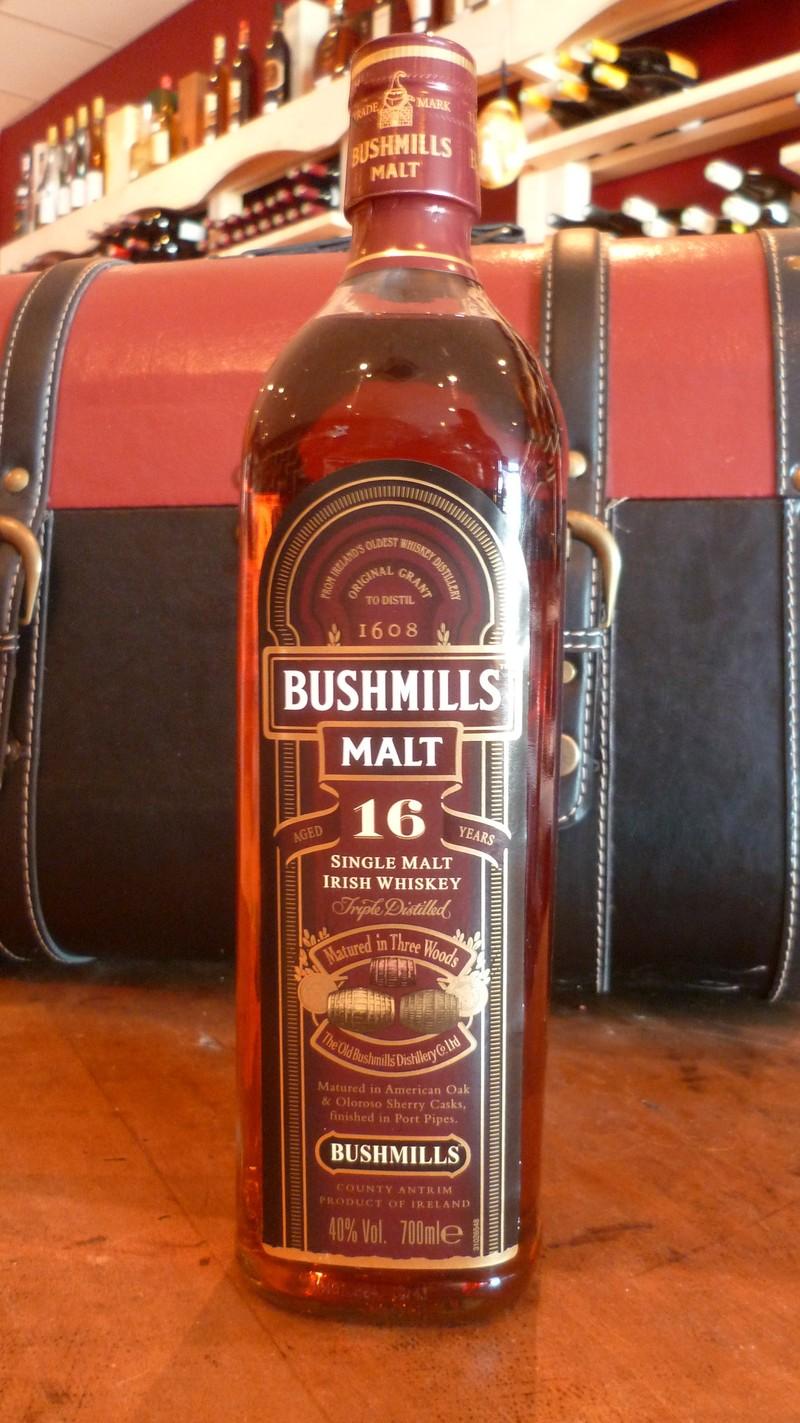 Bushmills malt 16 ans - Voir en grand