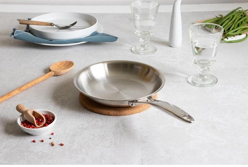 CASTEL'PRO FIXE INOX - CRISTEL - POELES & SAUTEUSES - GALLAZZINI - Arts de la table et de la Cuisine - Voir en grand