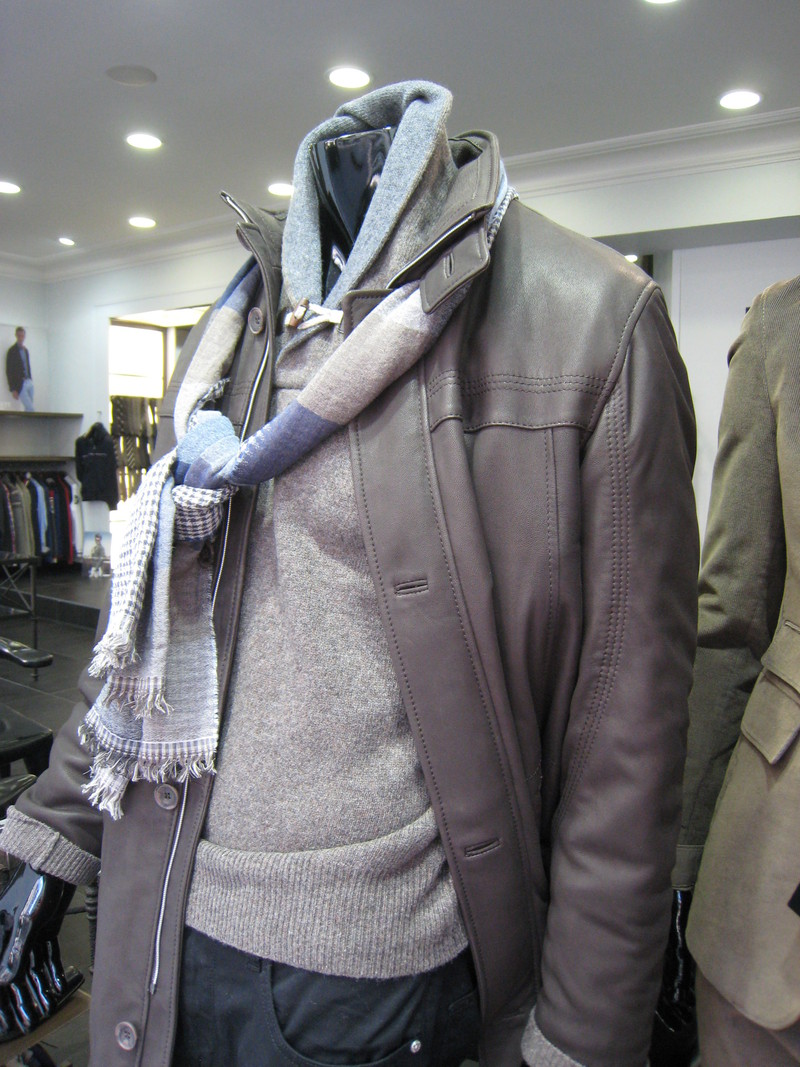LES CUIRS -  - UNION JACK - Vêtements pour Hommes - Voir en grand