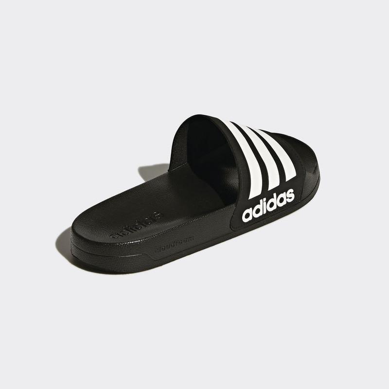outlet on sale half off best Claquette Adidas noir