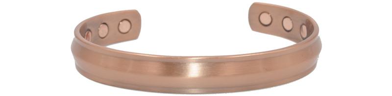 Bracelet cuivre MJ 1048 - BRACELETS CUIVRE  - Espace Bien Etre - Aimants - Pierres - Produits Naturels - Voir en grand