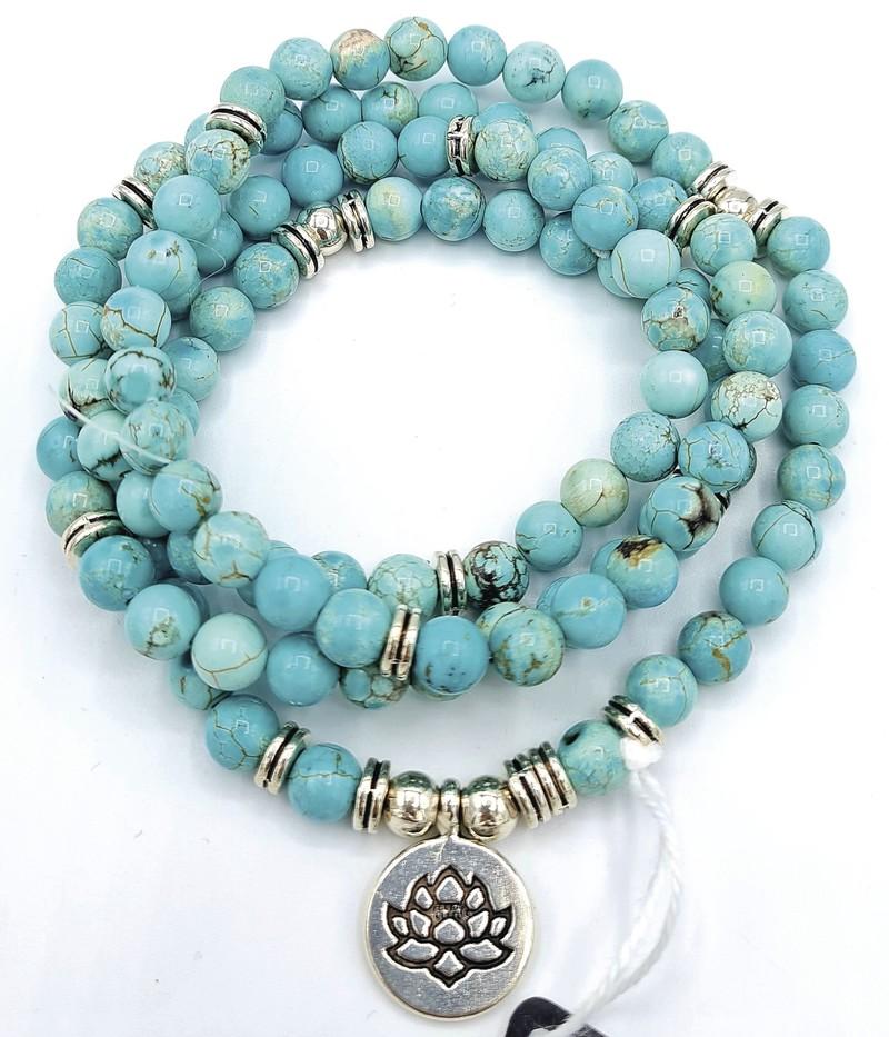 Sautoir Bracelet turkénite - Voir en grand