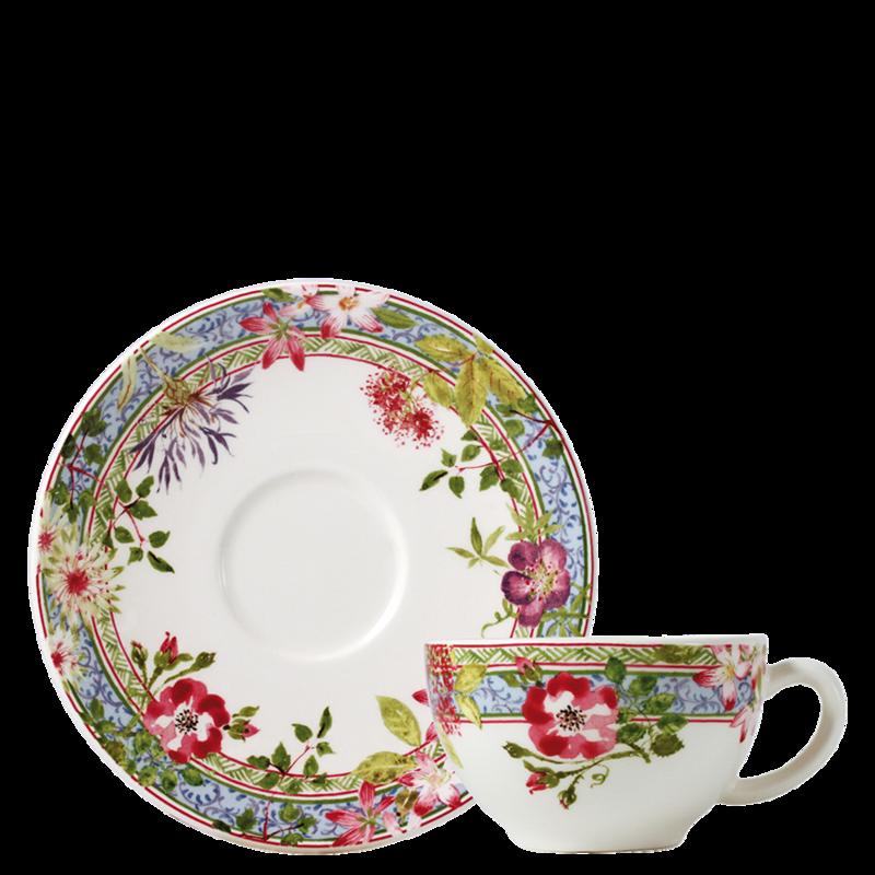 Tasse & soucoupe à thé - Voir en grand