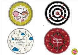 Horloges Derriere la porte - Tout pour être à l'heure  - CREA.64 Oloron Objet du quotidien, cadeau et décoration - Voir en grand
