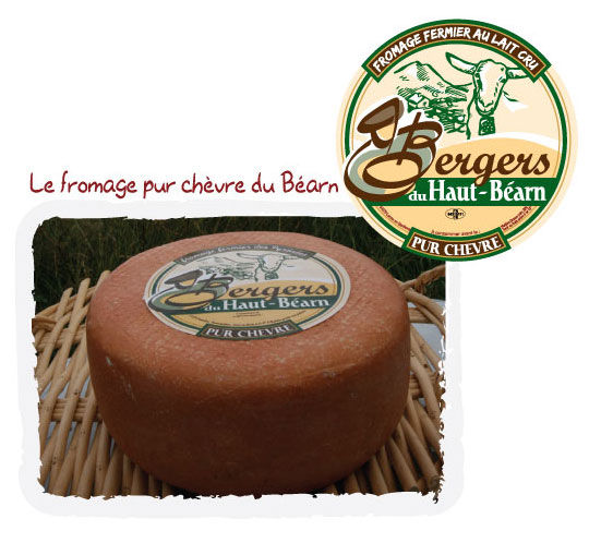 fromage de chevre fermier des pyrenees bergers du haut bearn fromages fermiers. Black Bedroom Furniture Sets. Home Design Ideas