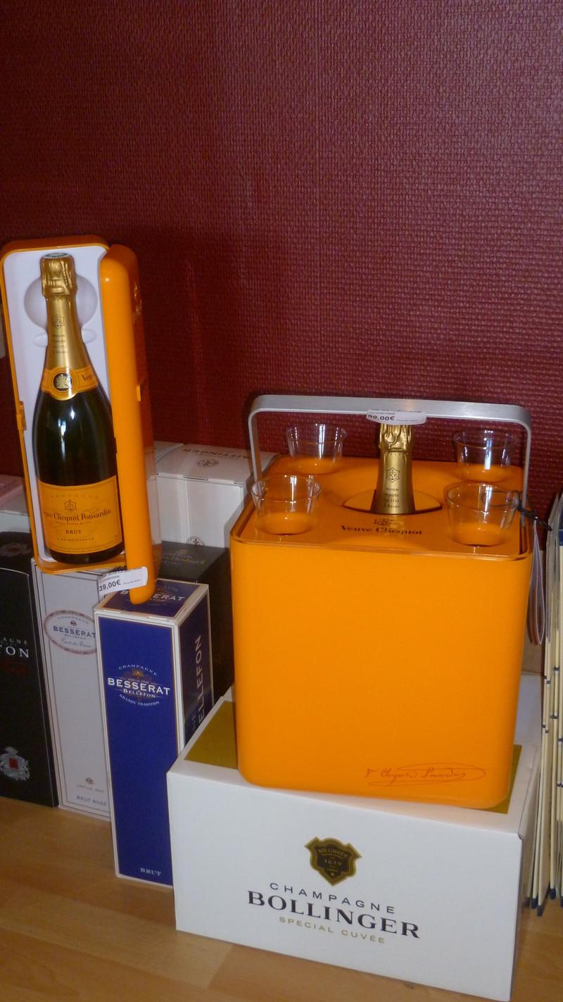 Cadeaux champagne - Voir en grand
