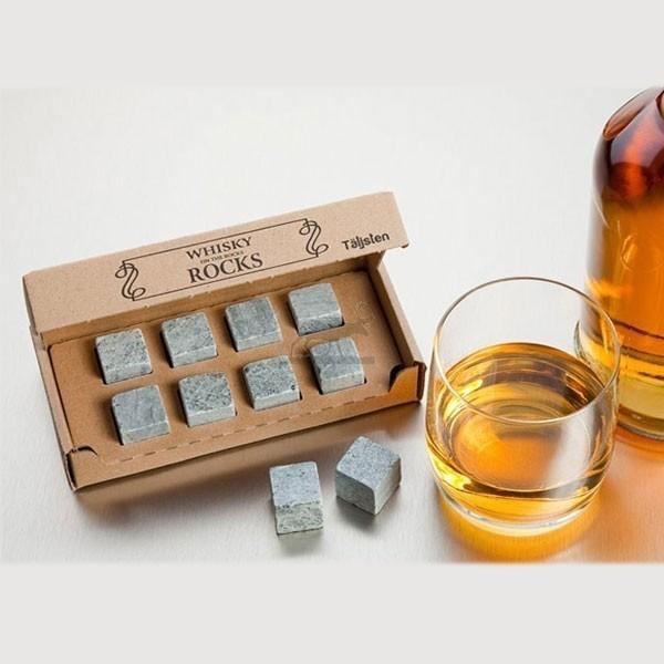 Whisky on the Rocks - Pierres à Whisky Taljsten - Verres de Dégustation - GALLAZZINI - Arts de la table et de la Cuisine - Voir en grand