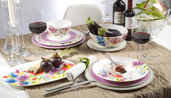 Anmut Flowers - Table - Villeroy et Boch - Disponible aussi au magasin Gallazzini - Voir en grand