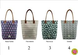 Grand sac à fermeture zippée decodelire - Tous mes sacs à main et cabas - CREA.64 Oloron Objet du quotidien, cadeau et décoration - Voir en grand