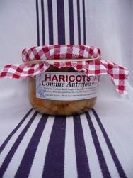 """Haricots tarbais cuisinés """"Comme autrefois"""" 400 g - Haricots Tarbais cuisinés """"Comme autrefois"""" - De cayret-capsus - Voir en grand"""