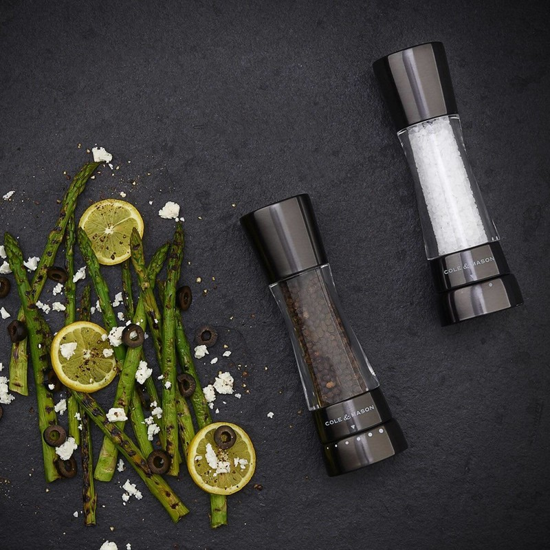 DERWENT - COFFRET MOULIN POIVRE & SEL - COLE & MASON - MOULINS SEL ET POIVRES - GALLAZZINI - Arts de la table et de la Cuisine - Voir en grand
