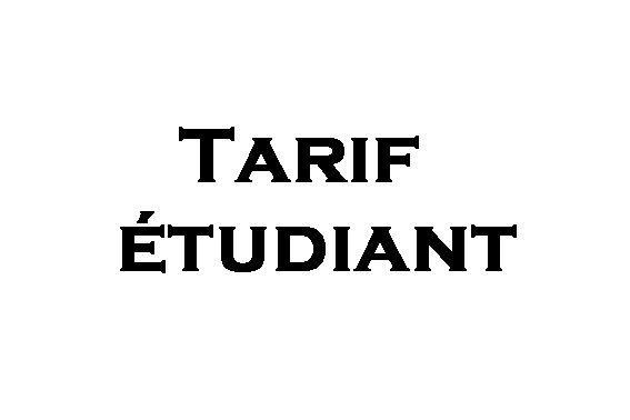 Tarif étudiant -  - Ecolor - Voir en grand