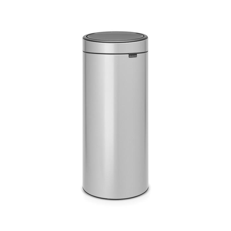 Poubelle TOUCH BIN 30L - Mettalic Grey - Voir en grand