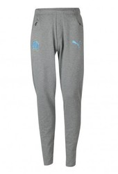 Pantalon d'entraînement OM casual gris - Voir en grand