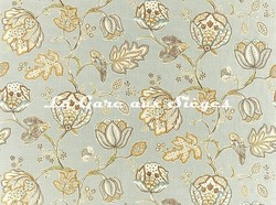 Tissu William Morris - Theodosia - réf: 226596 Grey - Voir en grand
