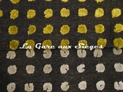Tissu Harlequin - Polka - réf: 130686 Charcoal/Linden & 130690 Pebble/Charcoal - Voir en grand
