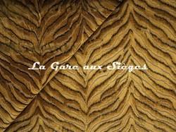 Tissu Jim Thompson - Tigris velvet - réf: J3725/002 Amber - Voir en grand
