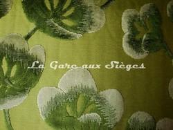 Tissu Casal - Velours Lotus - réf: 12659.3032 Anis/Fougère - Voir en grand