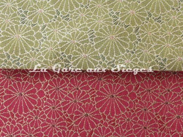 Tissu Jean PAul Gaultier - Obi - réf: 3467 - Coloris: 05 Amande & 06 Fuchsia - Voir en grand