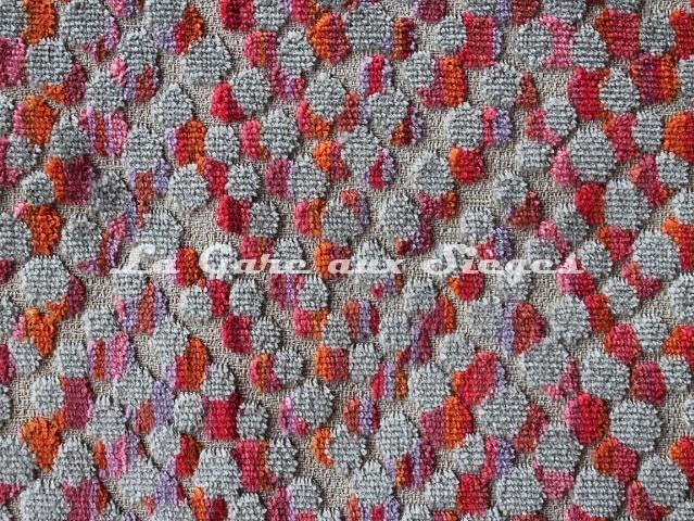 Tissu Deschemaker - Soledad - réf: 103986 Cerise - Voir en grand