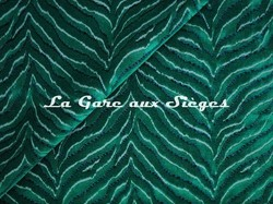 Tissu Jim Thompson - Tigris velvet - réf: J3725/004 Emerald - Voir en grand