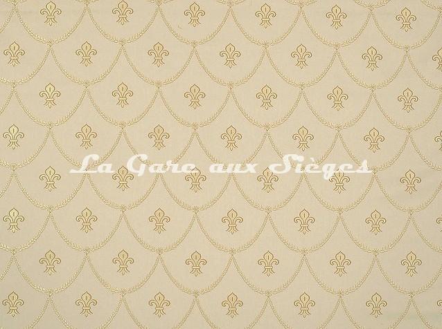 Tissu Casal - Keller - réf: 1818 - Coloris: 8 Crème - Voir en grand